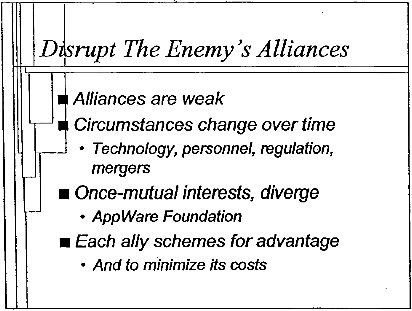 Disrupt Enemy's Alliances
