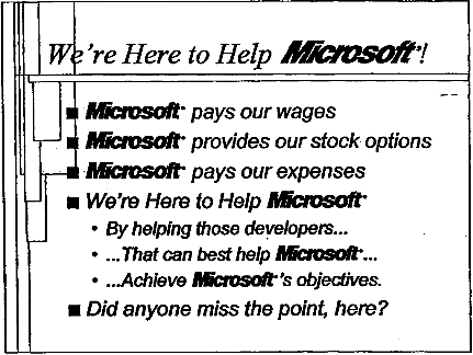Here To Help Microsoft