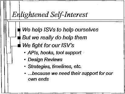Enlightened Self-Interest