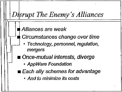 Disrupt Enemy's Alliances