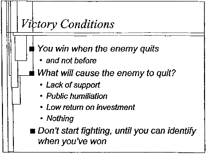 Enemy Quits = teh win